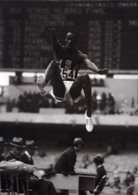 Bob beamon au JO de Mexico (1968)